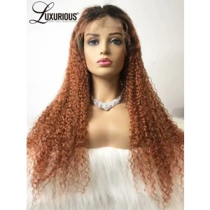 Luxurious Magic Of  New Collection Full Swiss Lace Orange Color Wig Online Shopping On Love Hair Company