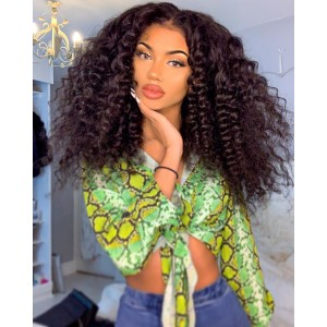 New Style 10A Grade Real Hair Wigs Brazilian Wig Full Lace Human Hair Wigs For African American Women With Baby Hair