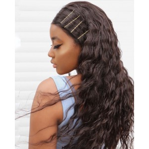 New 10A Grade Brazilian Remy Hair full lace Wig Deep Curly Lace Wigs Pre Plucked Natural Hairline For All Women