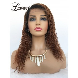 Luxurious Factory Wholesale Human Hair Lace Front Bob Wig Chocolate Color Remi Human Hair For Black Women