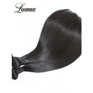 Luxurious Human Hair Weave Bundles Brazilian Remy Straight Hair Bundles Natural Human Hair Extension 1 Piece Free Shipping