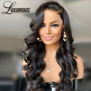13x4 Body Wave Lace Front Wig 30 34 inch Full Lace Front Human Hair Wigs Pre Plucked Melted Hairline Wig For Women Wig